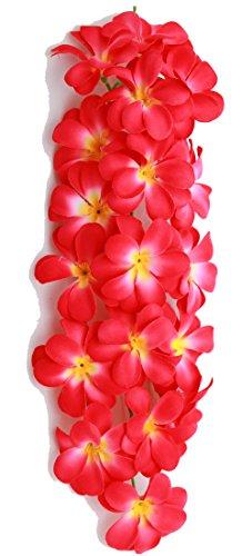 Pukana ハワイアン インテリアグリーン プルメリア 1輪挿し 長さ 40cm C  PUFR-1201-C