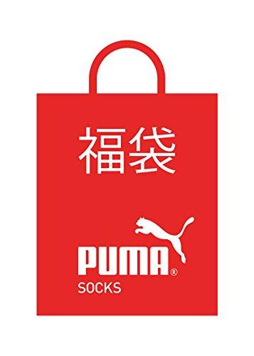 (プ-マ)PUMA 【福袋】キッズソックス5足セット 4296021  マルチカラ- 21-23cm