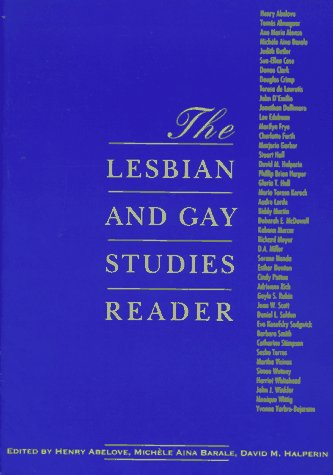 The Lesbian and Gay Studies Reader