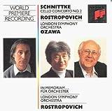 Schnittke: Cello Concerto No.2; In Memoriam