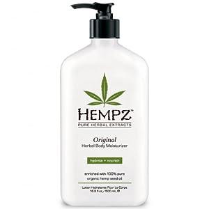 Hempz Herbal Moisturizer, 17-Fluid Ounce (500 ml) (Package may vary)