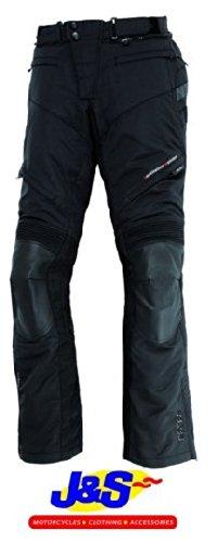 IXS Hamilton Gore-Tex Pantalon de moto imperméable moto pour femme Noir J & S