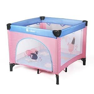 natineo lit parc ferme rose et violet. Black Bedroom Furniture Sets. Home Design Ideas