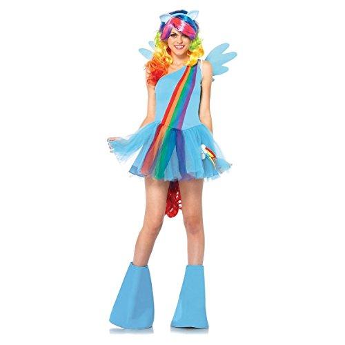 [GSG My Little Pony Costume Adult Womens Group Idea Halloween Fancy Dress] (Sports Day Costume Ideas Blue)