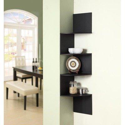 Wall Hanging Corner Storage Spacious Shelving Unit In