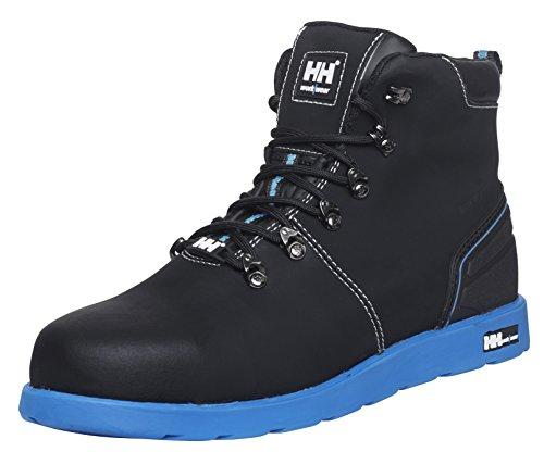 Helly Hansen Workwear Helly Hansen stivali di sicurezza S3Frogner 78252alla moda di altezza scarpe, pelle nera, nero, 78252