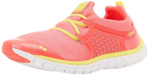 RYKA Women's Desire Shoe,Dark Pink/White/Yellow,8.5 M US