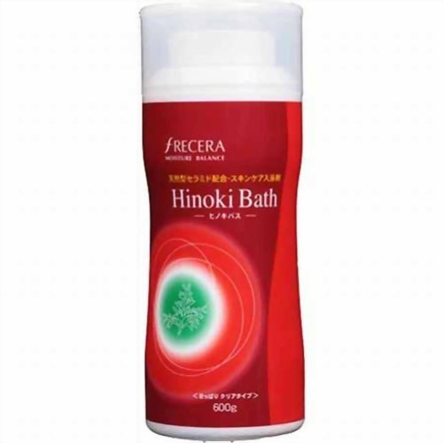 フレッセラ セラミド入浴剤 ヒノキバス 600g:宇部マテリアルズ