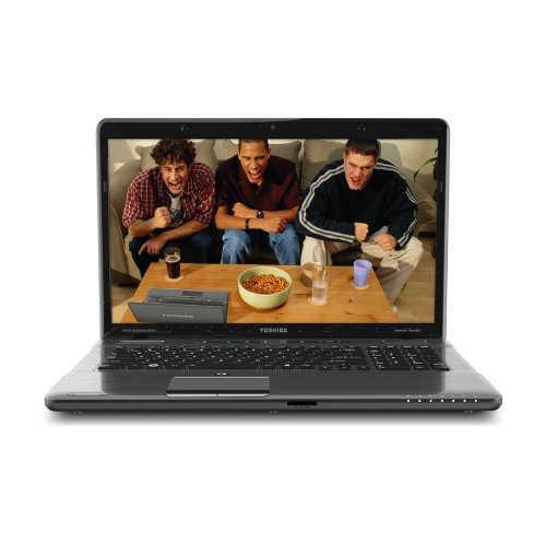 Toshiba Satellite P775-S7368 17.3-Inch LED Laptop - Fusion X2 Finish in Platinum
