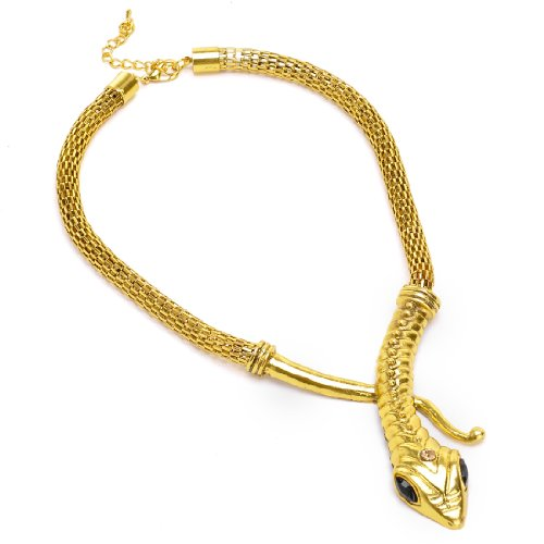 Vintage Golden Snake Style Necklace