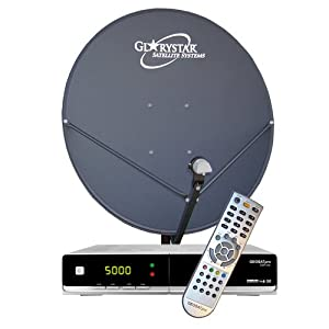 FTA Complete Glorystar Satellite One Room Standard System - Free to Air Television