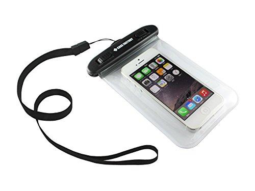 CASE FACTORY 防水ケース AQUA MARINA for iPhone5s/5c/5/4s/4  防水保護等級 IPX8  2015年モデル ネックストラップ付属 AAM-003 クリア 2015