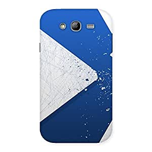 Blue Paint Work Back Case Cover for Galaxy Grand Neo Plus