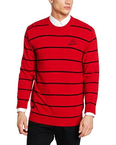 Love Moschino Pullover rot