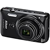 Nikon Coolpix S6900 Digital Compact Camera - Black (16MP, Built in Wi-Fi, 12x Optical Zoom)