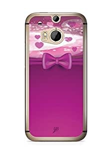 YuBingo Love Bow Mobile Case Back Cover for HTC One M8