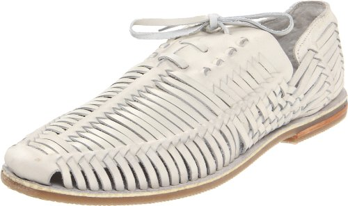 Steve Madden Men'S Reston Sandal,White Leather,12 M Us front-944820