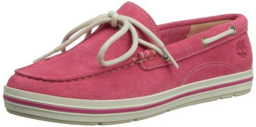 Timberland Womens EK Casco Bay Boat Shoes C8850R Hot Pink 7 UK, 40 EU