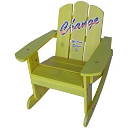 Black Friday - Lovely Kids 2-in-1 Chair / Rocker 20622, Light Yellow - Passed Safety Standards ASTM F963-07, for ages 2 to 6, Free Drawing Book