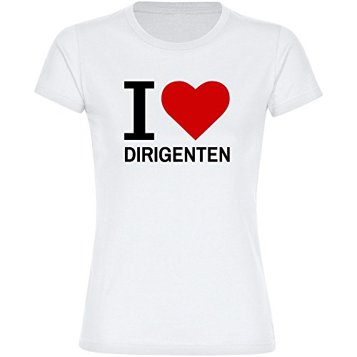T-Shirt-Classic-I-Love-Dirigenten-wei-Damen-Gr-S-bis-2XL