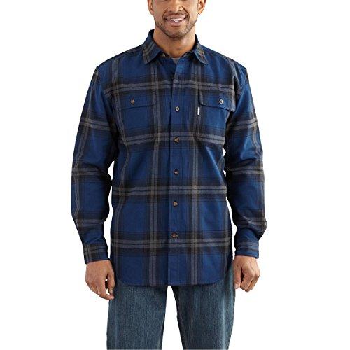 carhartt-mens-102215-hubbard-plaid-shirt-large-regular-dark-cobalt-blue