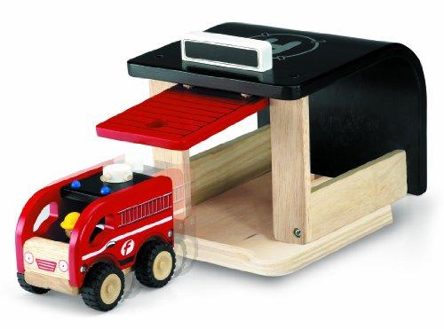 Wonderworld Mini Toy Fire Station front-633945