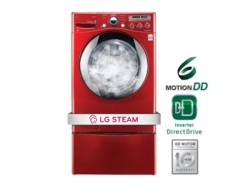Lg Steamwasher Series Wm2650hra Innovation Washing Machine