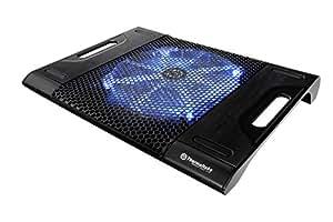 Thermaltake Massive23 LX Laptop Notebook Cooler Oversized 230mm Blue LED Fan USB CLN0015