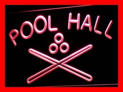 ADV PRO i589-r Pool Hall Billiards Snooker Bar Neon Light Sign