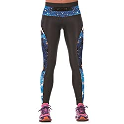 Shanxing Womens Elastic Outdoor Training Sports PantsExerciseYoga Gym TrousersStretchy Leggings from Shanxing