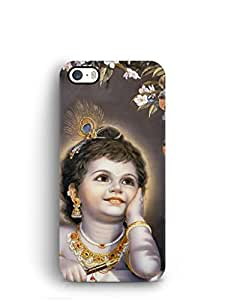 Cover Affair Bal Krishna Printed Back Cover Case for Apple iPhone 5S