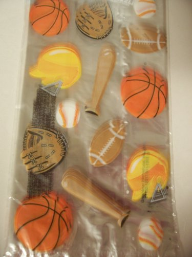 Cello Loot Bags and Ties ~ 25 Count (Sports Balls and Equipment)