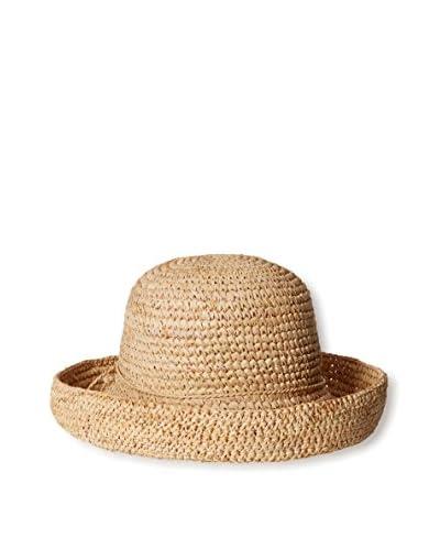 Scala Women's Woven Hat, Natural
