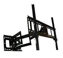"Unibrak UNB 550 Dual Arm Articulating Cantilever LCD Plasma LED LFD TV Wall Mount Extends 33 inches 42"" 50"" 58"" 65"" 70"" Extra Heavy Duty Sony LG Panasonic Samsung Sharp"