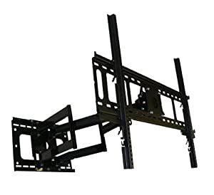 Unibrak UNB 550 Dual Arm Articulating Cantilever LCD Plasma LED TV Wall Mount 37 ,42 ,50,58,65 inches extends 33 inches Sony LG Panasonic Samsung Pioneer