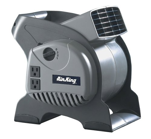 Air King 3-Speed Pivoting Utility Blower  Grounded