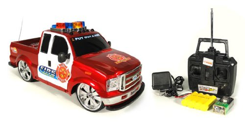 1:14 Ford F-250 Fire Fighting Unit Electric RTR RC Remote Control Truck