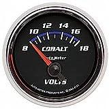 Auto Meter 6192 Cobalt Electric Voltmeter Gauge