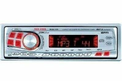 Red Star RCD 103 MP 3 Autoradio