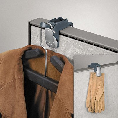 Partition Additions Coat Hook and Clip