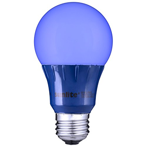 Sunlite Blue LED A19 Light Bulb