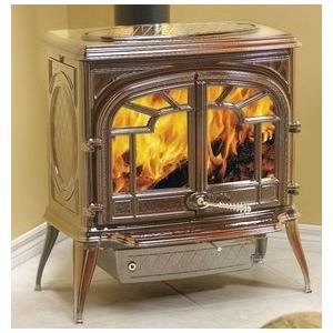 Napolean Fireplaces 1600CN-1 Cast Iron Wood Burning Stove - Porcelain (Napolean Gas Stove compare prices)