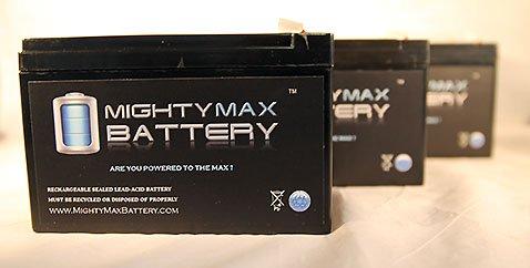 Ml15-12 12V 15Ah F2 Battery Ezip.Scooter, 650, 750, 900 - 3 Pack