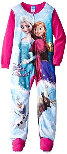 Little Girls'2-6X Frozen Elsa and Anna Blanket Sleeper