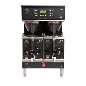 Curtis GEMTIF10B1000 G3 Gemini IntelliFresh Twin 3 Gallon Coffee Satellite Brewer - 220V