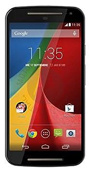 Motorola Moto G (2ème Génération) Smartphone débloqué 3G+ (Ecran: 5 pouces - 8 Go - Double SIM - Android 4.4 KitKat) Noir (import Espagne)