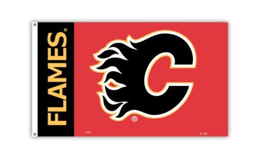 NHL Calgary Flames Flag with Grommetts (3 x 5-Feet)