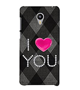 Ebby Premium Printed Mobile Back Case Cover With Full protection For Meizu M2 (Designer Case)