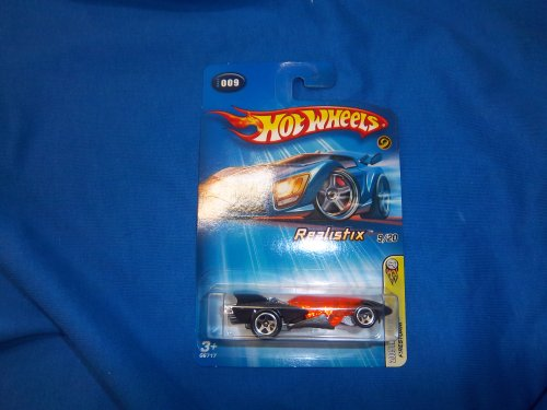 Mattel Hot Wheels 2005 1:64 Scale Black Firestorm Die Cast Car #009 - 1