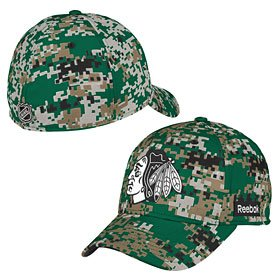 Cap Blackhakwks Digital Camo Flex at Amazon.com